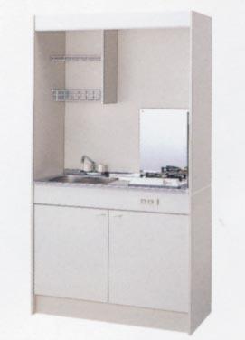 *クリナップ*ミニキッチン ガスコンロタイプ A[扉]タイプ 1050サイズ