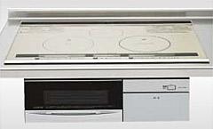 *クリナップ*ZEHCA7H10HSS IHクッキングヒーター ビルトインタイプ 天板75cm 水無両面焼 シルバー