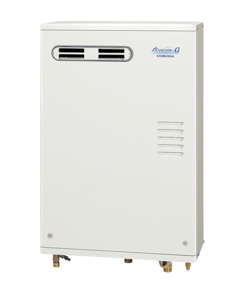*コロナ*UKB-AG470ARX[MW] 石油ふろ給湯器 オートタイプ 屋外設置型 前面排気 ボイスリモコン付属タイプ AGシリーズ 水道直圧式【送料・代引無料】