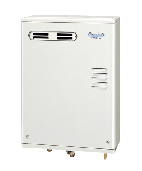 *コロナ*UIB-AG47RX[MW] 石油ふろ給湯器 給湯専用タイプ 屋外設置型 前面排気 ボイスリモコン付属タイプ AGシリーズ 水道直圧式【送料・代引無料】