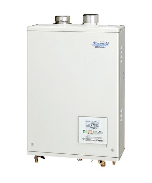 *コロナ*UIB-AG47RX[FFW] 石油ふろ給湯器 給湯専用タイプ 屋内設置型 強制給排気 ボイスリモコン付属タイプ AGシリーズ 水道直圧式【送料・代引無料】