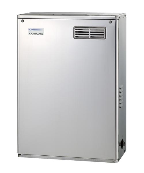 *コロナ*UKB-NX370R[MS] 石油ふろ給湯器 給湯+追いだきタイプ 屋外設置型 前面排気 シンプルリモコン付属タイプ NXシリーズ 貯湯式【送料・代引無料】