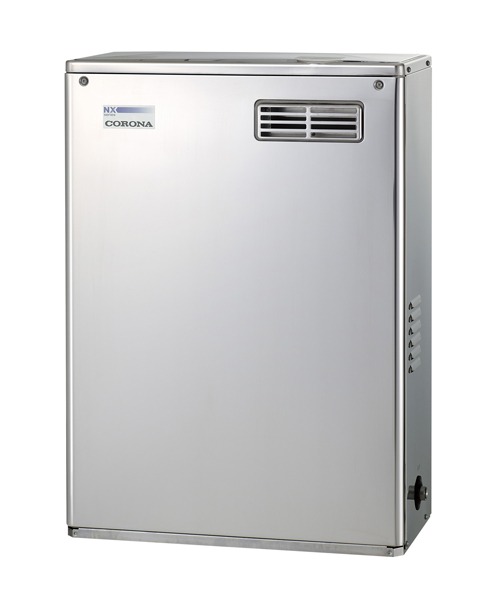 *コロナ*UIB-NX46R[MSD] 石油給湯器 給湯専用タイプ 屋外設置型 前面排気 シンプルリモコン付属タイプ NXシリーズ 貯湯式【送料・代引無料】