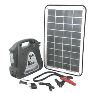 *CV21*CVLM-H12T-SPP/SG3500 LED ソーラーパワーパック 太陽電池パネル・ポータブルバッテリー【送料・代引無料】