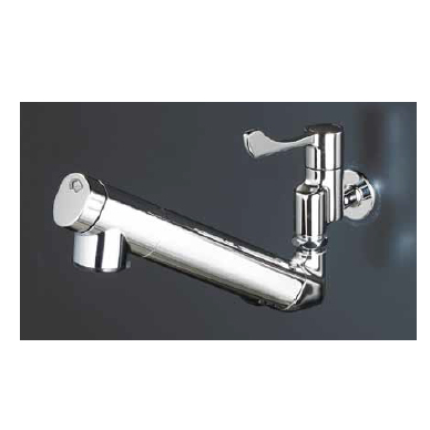 *KVK水栓金具*キッチン水栓 K1610N 浄水器内蔵自在水栓 210mmパイプ付 一般地用【送料無料/代引不可】