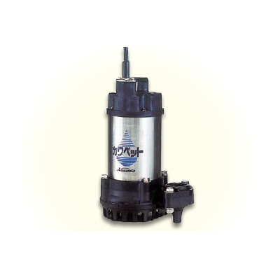 *川本ポンプ/kawamoto*WUP3-505[506]-0.75G 排水水中ポンプ カワペット WUP3-G形 0.75kW[三相200V] 非自動型【送料無料】