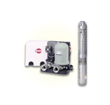 *川本ポンプ/kawamoto*UFL2-450S UFL2形 深井戸水中ポンプ カワエースディーパー 水量タイプ 450W[単相100V] 単独運転【送料無料】