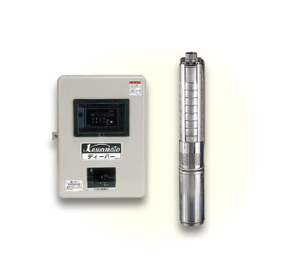 *川本ポンプ/kawamoto*USLH-606SR 60Hz USL形 深井戸水中ポンプ カワエースディーパー 600W[単相100V]  単独運転