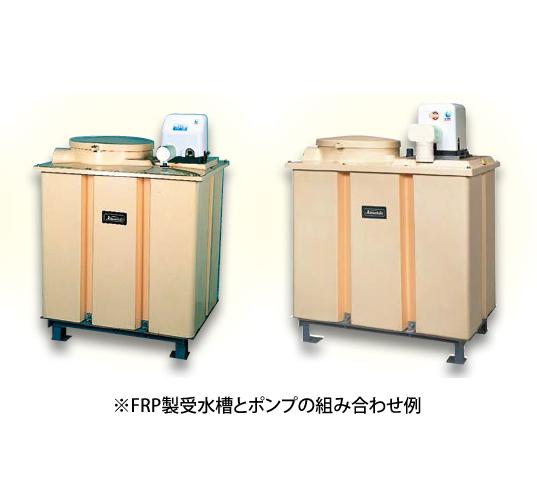 *川本ポンプ/kawamoto*NF2-150SK 500L FRP受水槽付[受水槽+ポンプ] 単相100V 150W 単独方式 カワエースシリーズ【メーカー直送送料無料】