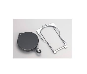 *パロマ*PGD-5 ガスコンロ用 シンプルグリルダッチオーブンセット オークス製[日本製] 料理ブック付
