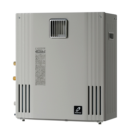 *パーパス[高木産業]*GN-H2400ZR ガスふろ給湯器 屋外据置型 隣接&遠隔 追いだき併用タイプ [フルオート] 24号【送料・代引無料】