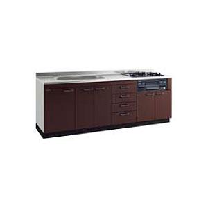 *タカラスタンダード*KIY210[L/R]+TN34-60 システムキッチン 流し台+ガスコンロ [アーバスフラット]