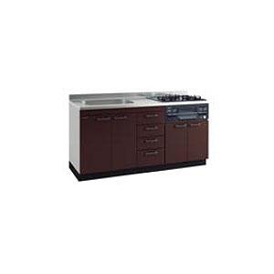 *タカラスタンダード*KIE160[L/R]+TN34-60 システムキッチン 流し台+ガスコンロ [アーバスフラット]