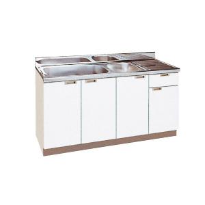 *丸南工業*NL150W[R/L] 流し台 NLシリーズ キッチンコンポ〈間口150cm〉