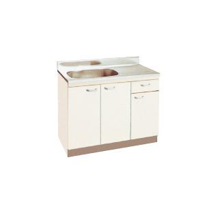 *丸南工業*JD100S[R/L] 流し台 LDシリーズ キッチンコンポ〈間口100cm〉