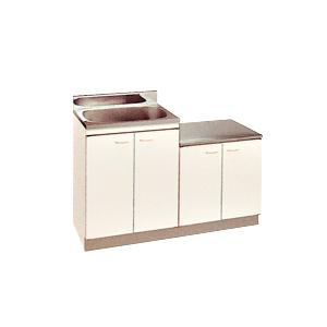 *丸南工業*KGLG120S[R/L] 流し台 Kシリーズ キッチンコンポ〈間口120cm〉