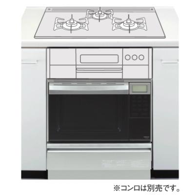 *大阪ガス*114-F413 ビルトインガスオーブン コンビネーションレンジ セットフリータイプ 35L 収納庫付