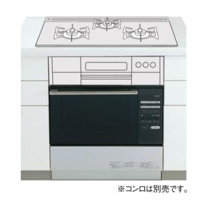 *大阪ガス*114-F423 ビルトインガスオーブン コンビネーションレンジ セットフリータイプ 35L 収納庫付