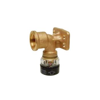 *SEKISUI/積水化学工業*12個セット KHWL10Z エスロカチット 座付き給水栓エルボ 呼び径 10xRp1/2〈送料無料〉