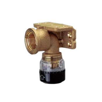 *SEKISUI/積水化学工業*12個セット KHWL10W エスロカチット 両座付き給水栓エルボ〈砲金製〉 呼び径 10xRp1/2〈送料無料〉