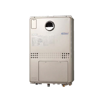 *長府製作所/CHOFU*GFKD-S2440KA 高効率ガスふろ給湯器 温水暖房付 エコジョーズ 屋外壁掛型[オート]24号【送料・代引無料】〈離島販売不可〉
