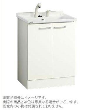 *クリナップ*BGAL60TNMKWS[ I /G] ベースキャビネットのみ 開きタイプ ホワイト シャワー付きシングルレバー水栓 [BGAシリーズ] [間口60cm]
