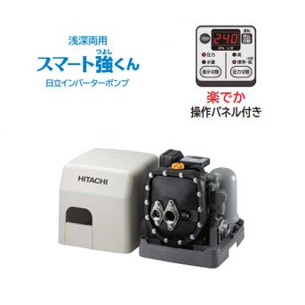 *日立*CM-K750X 浅深両用自動ブラダ式ポンプ 出力750W [三相200V]【送料無料】