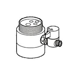 *ナニワ製作所*NSJ-SS7 [デッキタイプ・シングルレバー] 湯水混合水栓用 分岐水栓