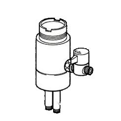 *ナニワ製作所*NSJ-SSC7 [デッキタイプ・シングルレバー] 湯水混合水栓用 分岐水栓【送料無料】