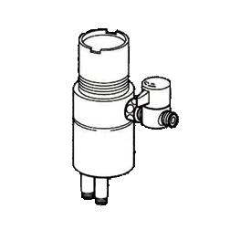 *ナニワ製作所*NSJ-SSD7 [デッキタイプ・シングルレバー] 湯水混合水栓用 分岐水栓【送料無料】