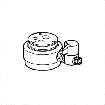 *ナニワ製作所*NSJ-SXA7 [デッキタイプ・シングルレバー] 湯水混合水栓用 分岐水栓