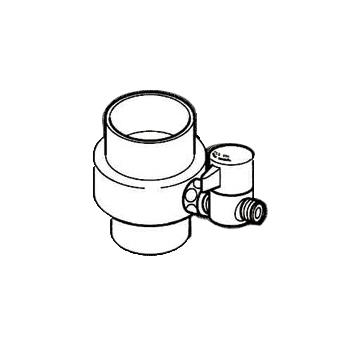 *ナニワ製作所*NSJ-SXD7 [デッキタイプ・シングルレバー] 湯水混合水栓用 分岐水栓