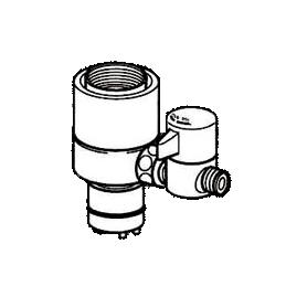 *ナニワ製作所*NSJ-SXJ7 [デッキタイプ・シングルレバー] 湯水混合水栓用 分岐水栓