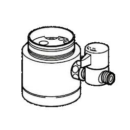 *ナニワ製作所*NSJ-SKB7 [デッキタイプ・シングルレバー] 湯水混合水栓用 分岐水栓