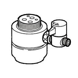 *ナニワ製作所*NSJ-SKH7 [デッキタイプ・シングルレバー] 湯水混合水栓用 分岐水栓