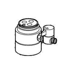 *ナニワ製作所*NSJ-SEA7 [デッキタイプ・シングルレバー] 湯水混合水栓用 分岐水栓