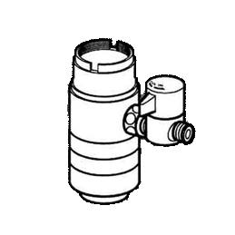 *ナニワ製作所*NSJ-SEC7 [デッキタイプ・シングルレバー] 湯水混合水栓用 分岐水栓