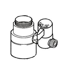 *ナニワ製作所*NSJ-SPA7 [デッキタイプ・シングルレバー] 湯水混合水栓用 分岐水栓