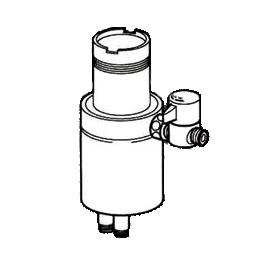 *ナニワ製作所*NSJ-STKB7 [デッキタイプ・シングルレバー] 湯水混合水栓用 分岐水栓
