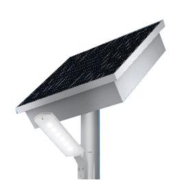 *ODELIC/オーデリック*ES400101 環境配慮型ソーラーLED街路灯 昼白色タイプ ソーラーポールライト