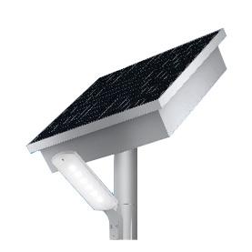 *ODELIC/オーデリック*ES400102 環境配慮型ソーラーLED街路灯 電球色タイプ ソーラーポールライト