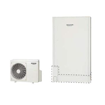 *コロナ*CHP-E372AX3 エコキュート 薄型 省スペースタイプ 高圧力パワフル給湯 フルオート 一般地 370L ホワイト インターホンリモコンセット【メーカー直送送料無料】