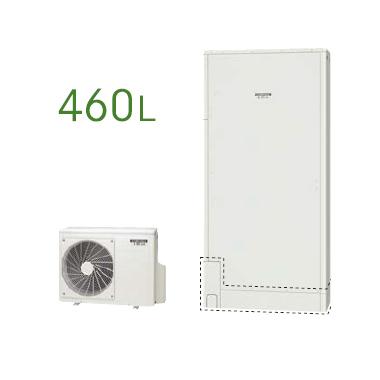 *コロナ*CHP-E462AX3 エコキュート 薄型 省スペースタイプ 高圧力パワフル給湯 フルオート 一般地 460L ホワイト インターホンリモコンセット【メーカー直送送料無料】