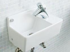 *ジャニス*L353[BK/PK3/BL3] 手洗器 コンパクトライン【送料無料】