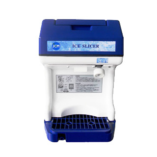 *JCM* 業務用電動かき氷機 キューブアイススライサー JCM-IS 替刃1枚付【2014年改良版】