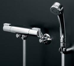 *KAKUDAI*173-224 水栓金具 サーモスタットシャワー専用混合栓