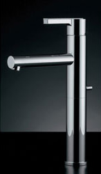 *KAKUDAI*183-075/183-075K 水栓金具 シングルレバー混合栓 トールタイプ 引棒なし