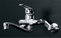 *KAKUDAI*192-051 水栓金具 シングルレバー混合栓