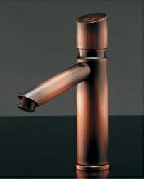 *KAKUDAI* 716-315-13 よく[沃] 洗面用 自閉立水栓 ブロンズ【送料・代引無料】
