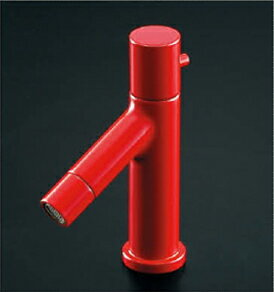 *KAKUDAI* 716-840-13 SWEEQ 洗面用立水栓 レッド